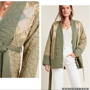 🆕 Anthropologie Quilted Patchwork Kimono